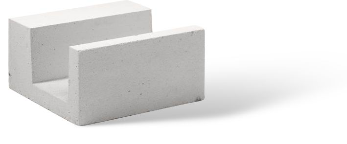 У образные блоки